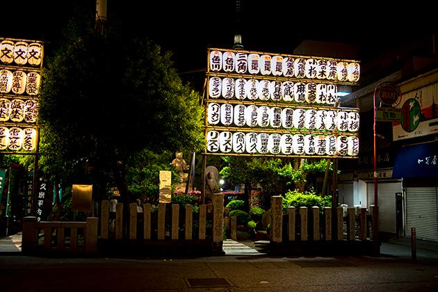 夜の浅草散歩100