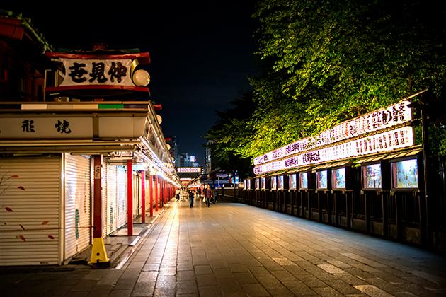 夜の浅草散歩101