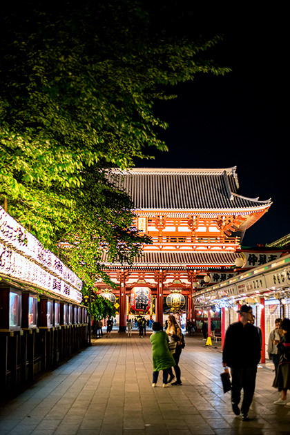 夜の浅草散歩105