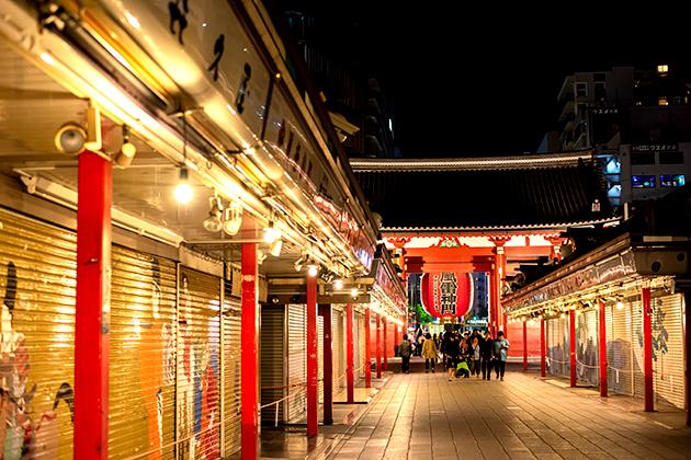 夜の浅草散歩112