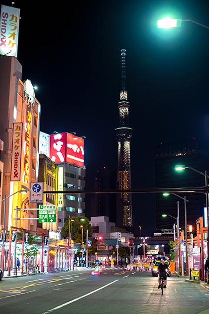 夜の浅草散歩119