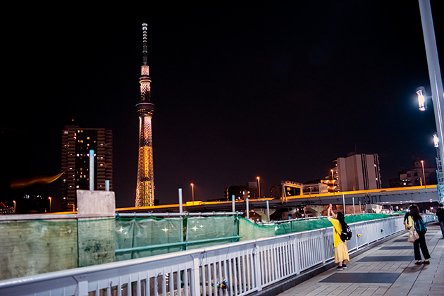 夜の浅草散歩135