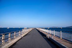 館山夕日桟橋13